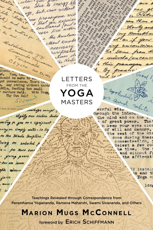 Letters from the Yoga Masters book cover image